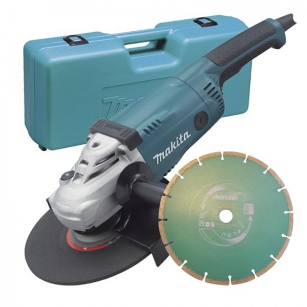 HYUNDAI HY2157 CORDED ELECTRIC 230V 9 INCH ANGLE GRINDER