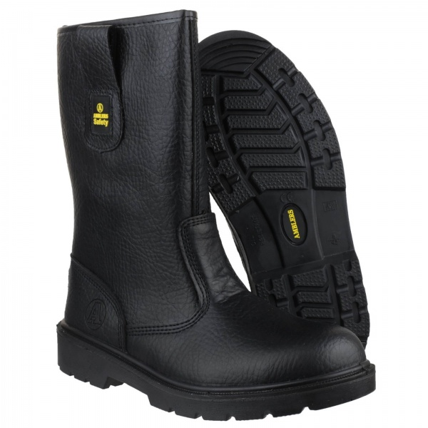 b0416f0c7db AMBLERS FS224 WATER RESISTANT PULL ON SAFETY RIGGER BOOT