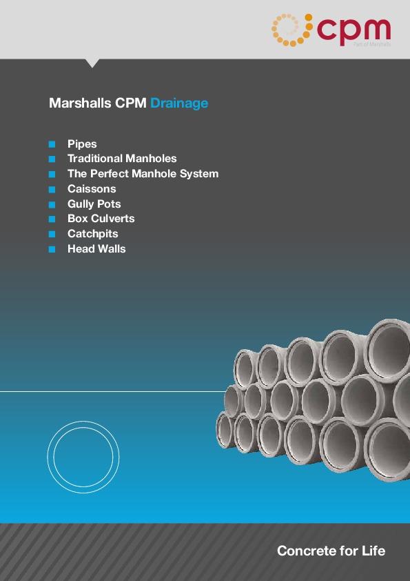 Marshalls CPM Drainage Concrete for Life